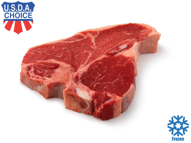 Porterhouse Steak, USDA Choice (Dhs 135.00 per kg) - Frozen