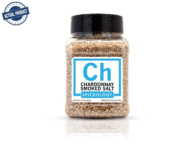 Chardonnay Smoked Salt (14oz/397g)