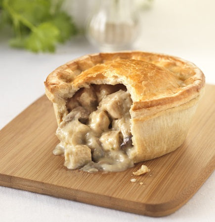 Chicken and Mushroom Pie (2pcs)