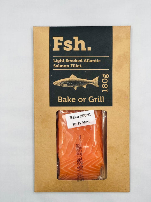 Light Smoked Atlantic Salmon Fillet
