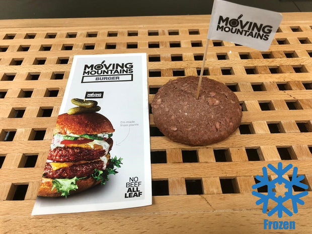 Veggie Burger Patties - 170g(6oz) | Moving Mountains | ButcherShop.ae UAE
