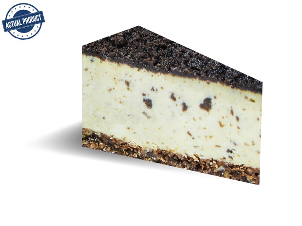 Cookies and Cream Baked Cheese Cake, Round Pre-cut  (25cm/1.6kg) - Frozen