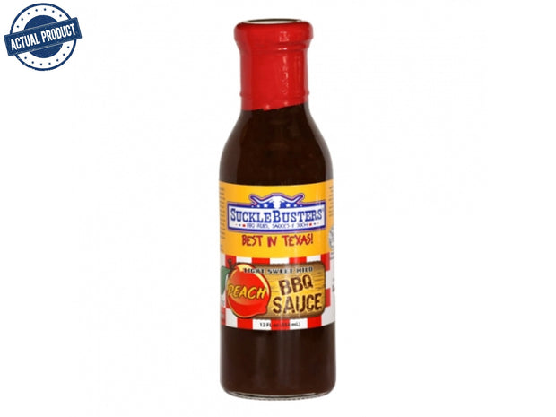 Peach BBQ Sauce (12oz/354ml)