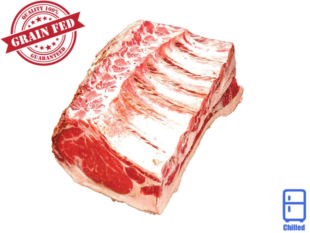Bone In Ribeye, Long Bone | Riverina Black Angus | ButcherShop.ae UAE