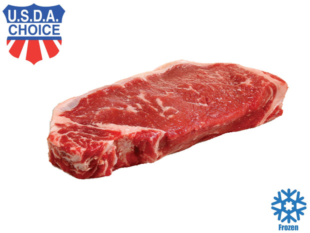 Striploin Steak, USDA Choice (10oz/300g) - Frozen