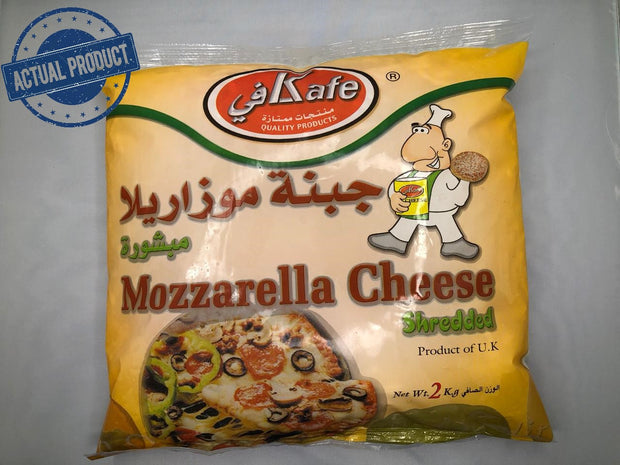 Mozzarella Cheese - Shredded (2kg) - Frozen