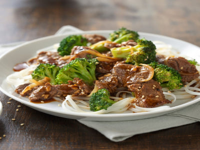 Recipe : ASIAN BEEF AND BROCCOLI