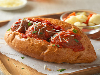 Recipe : ZESTY MEATBALL SANDWICHES | ButcherShop.ae UAE