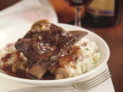 Recipe : WINE-BRAISED SHORT RIBS | ButcherShop.ae UAE