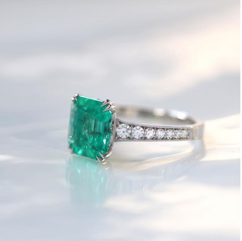 Emerald Ring - Erika Winters and Alchemy Custom