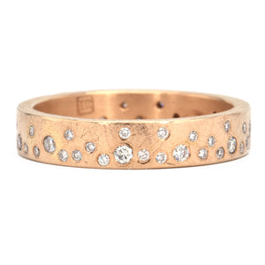 Todd Reed-Twilight Band - 4mm - 18k Rose Gold