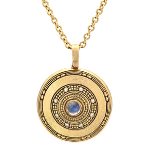 Alex Sepkus Jewelry- Moonstone Pendant Necklace