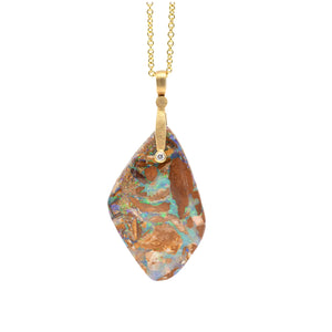 Alex Sepkus Sticks & Stones Boulder Opal Necklace - Portland Oregon - Alchemy Jeweler