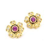 Alex Sepkus Rosette Earrings