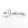 oval diamond engagement ring - Erika Winters at Alchemy Jeweler