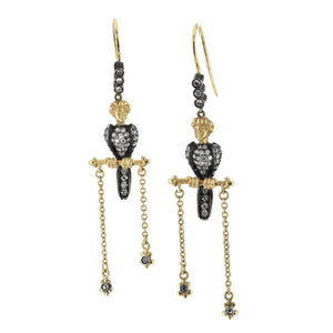 Lord Jewelry Victorian Bird Earrings