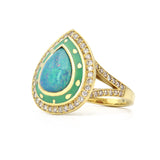 Lord Jewelry One of a Kind Opal Ring
