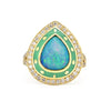 Lord Jewelry One of a Kind Opal Ring -Alchemy Jeweler -Portland Oregon
