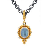 Zaffiro Blue Moonstone Necklace