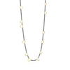 Sarah Graham Trigone Necklace in sterling silver and 18k yellow gold