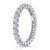 Alchemy Scalloped Diamond Eternity Band in Platinum