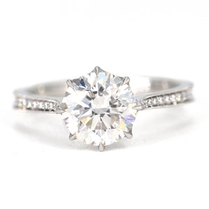 Erika Winters Margot Solitaire Ring