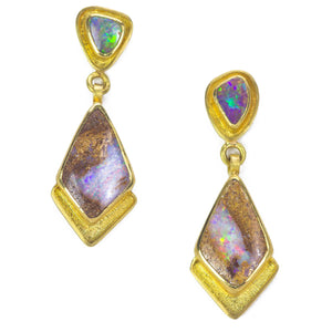 Amanda Linn Australian Opal Earrings