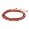 Anne Sportun - Gemstone Wrap in Red Garnet