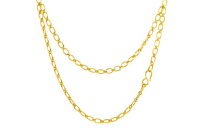 Loren Nicole- Jewelry-22k yellow gold chain necklace-24""