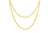 Loren Nicole 22k Yellow Gold Cable Chain Necklace