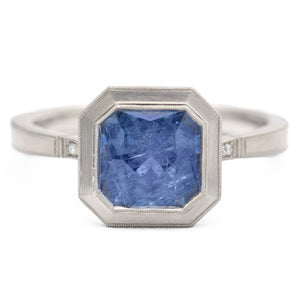 Erika Winters Fine Jewelry - Blue Sapphire Marina Ring - Alchemy Jeweler