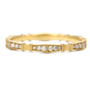 Erika Winters Fine Jewelry - Imogen Band 18k yellow gold - Alchemy Jeweler