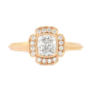 Erika Winters Fine Jewelry-Iris-Halo-Engagement-Ring-Rose-Gold