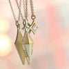 Erika Winters-Fine Jewelry - Small Shield Necklace-Alchemy Jeweler-Portland-Oregon