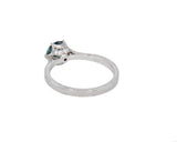 Erika Winters Grace Cathedral Solitaire with Montana Sapphire