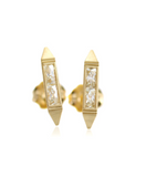 Erika Winters Estella Bar Stud Earrings