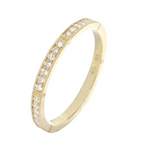 Erika Winters Isabella Band with Round Diamonds