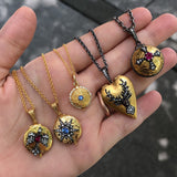 Arman Sarkisyan- Love Lockets-yellow gold-alchemy jeweler