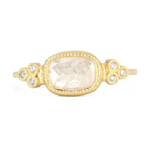 Jennifer Dawes Oval Diamond Ring