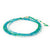 Anne Sportun Green Onyx, Apatite and Amazonite Ombre Wrap Bracelet