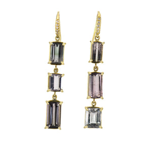 Lauren K Joyce Ombre Tourmaline Earrings