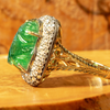 Lord Jewelry Emerald Ring
