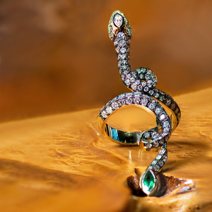 Lord Jewelry Rattlesnake Ring