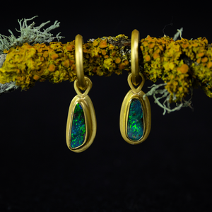 Amanda Linn Opal Drop Earrings