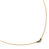 Anne Sportun-18k necklace-blue sapphires-black Friday-cyber Monday