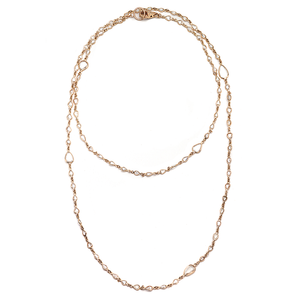 Nam Cho Champagne Diamond Necklace