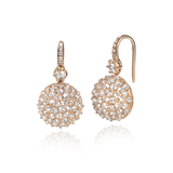 Nam Cho Ice Diamond Ball Drop Earrings