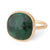 Anne Sportun Rose Cut Emerald Ring