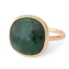 Anne Sportun Rosecut Emerald Ring - Alchemy Jeweler