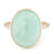 Anne Sportun Rose Cut Light Green Emerald Ring